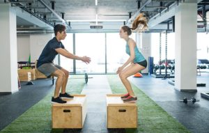 Work out on the bodyweight training ideas