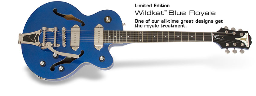 Epiphone Wildkat Blue Royale Limited Edition