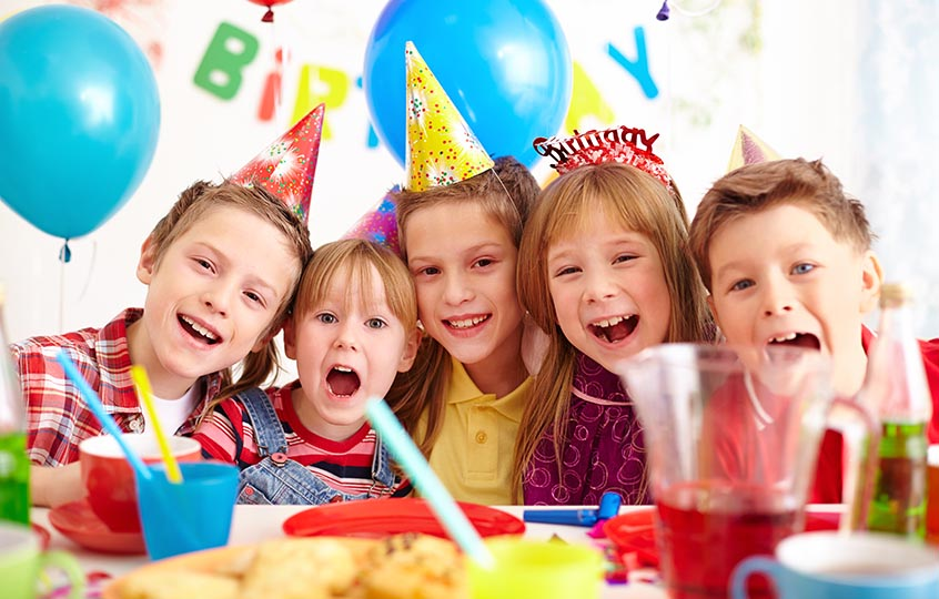 happy kids birthday party