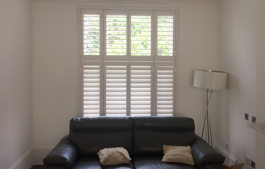 tier-on-tier window shutters